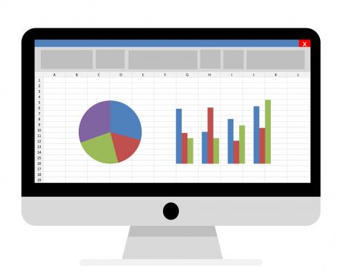 Gyakori feladat a grafikonok, kimutatások gazdasági fordítása.