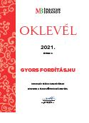 MagyarBrands díj 2021